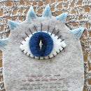 Felt Monster for a Felt Board or Quiet Time Book