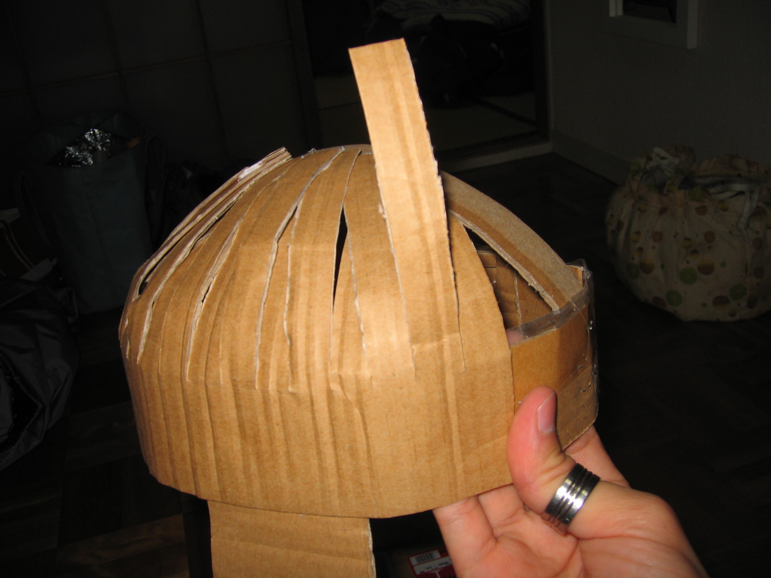 Picture of Form the Helmet's Shape and Profile