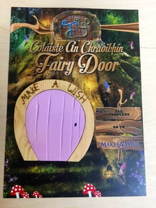 How to Make a Fairy Door (Glows in the Dark)