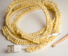 What to Do With Cotton Scraps: Cover Your Cords