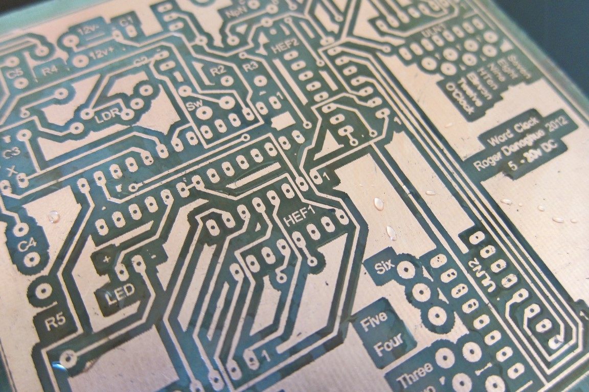 Picture of Easy, Consistent & Cheap Toner Transfer Method for Single & Double Sided PCBs