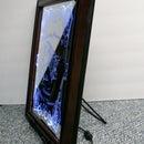 L.E.D. Backlit mirror memorial