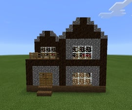 How to make a basic 2-story house.