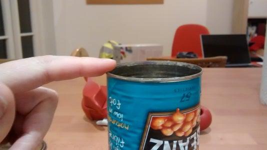 Make a Tin Can Hiding Place