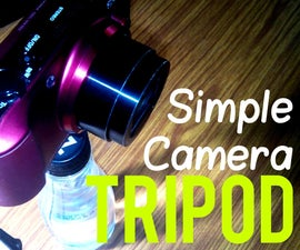 SIMPLE AND PORTABLE CAMERA TRIPOD WITHIN ₹50 (less Than 1$)