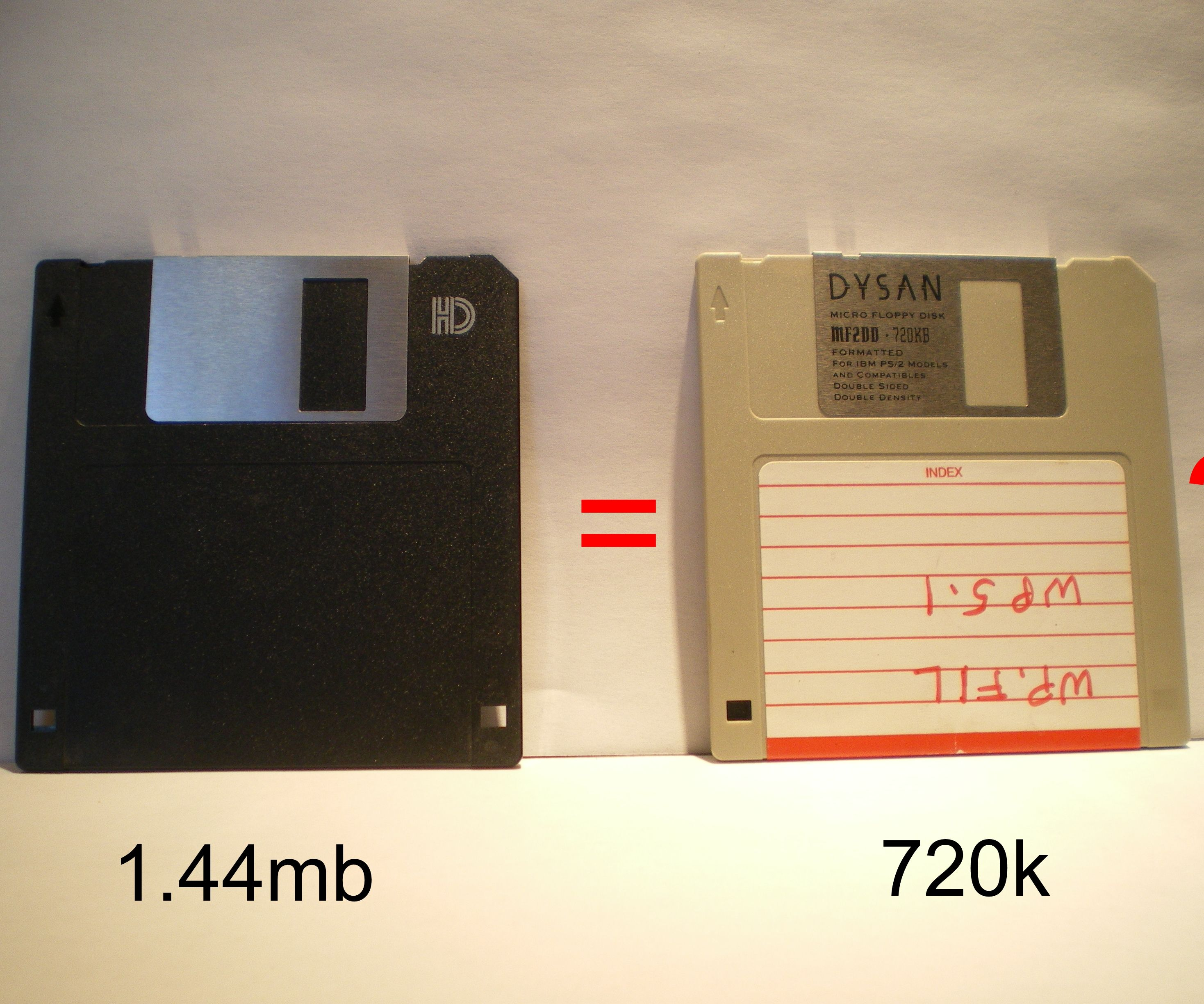 Convert a 1 44MB Floppy to 720K: 4 Steps
