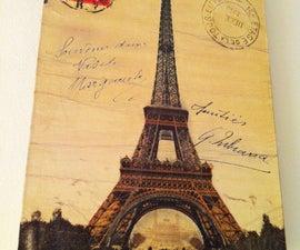 Antiquing postcards