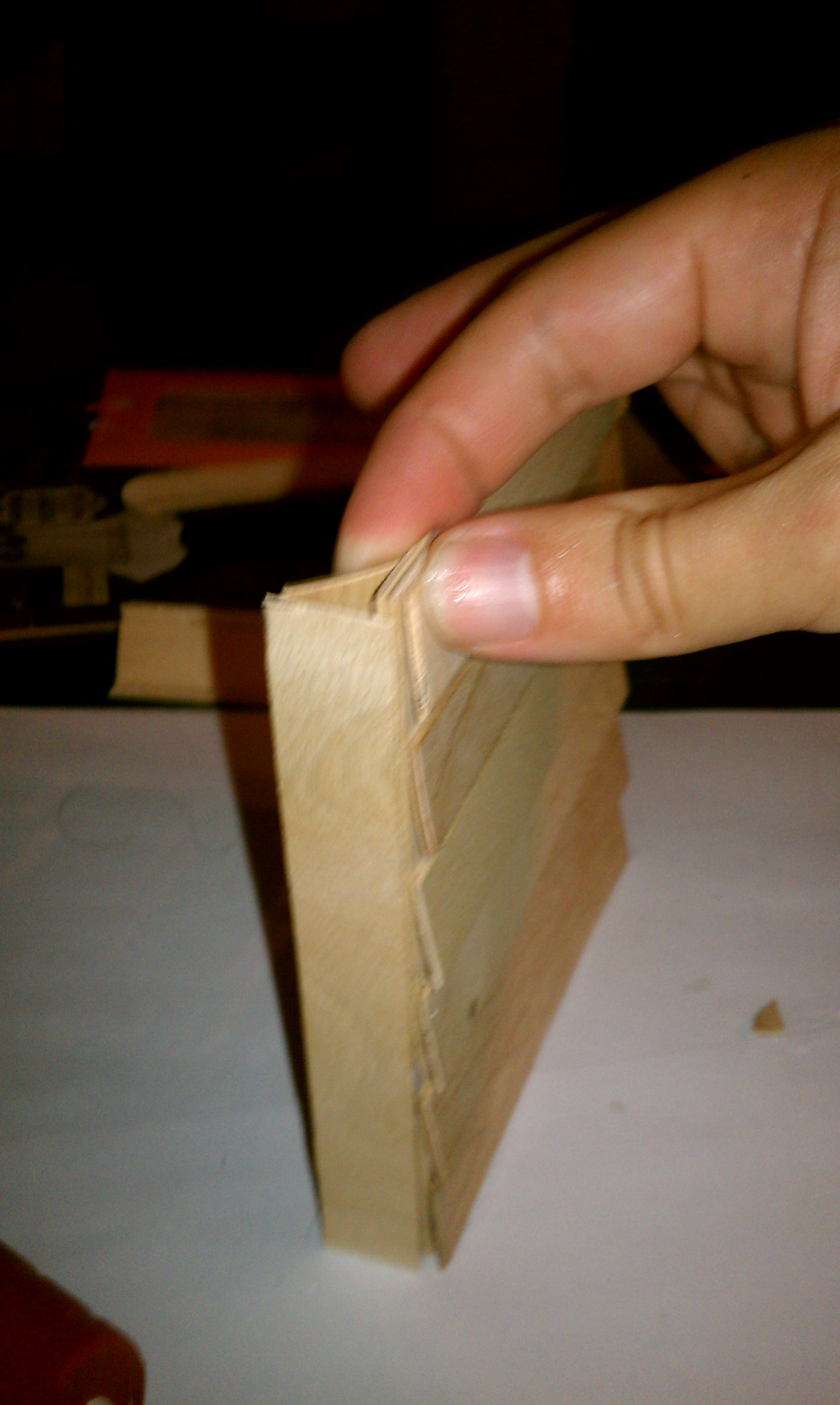 Picture of Make a Popsicle Stick Shutter Lamp