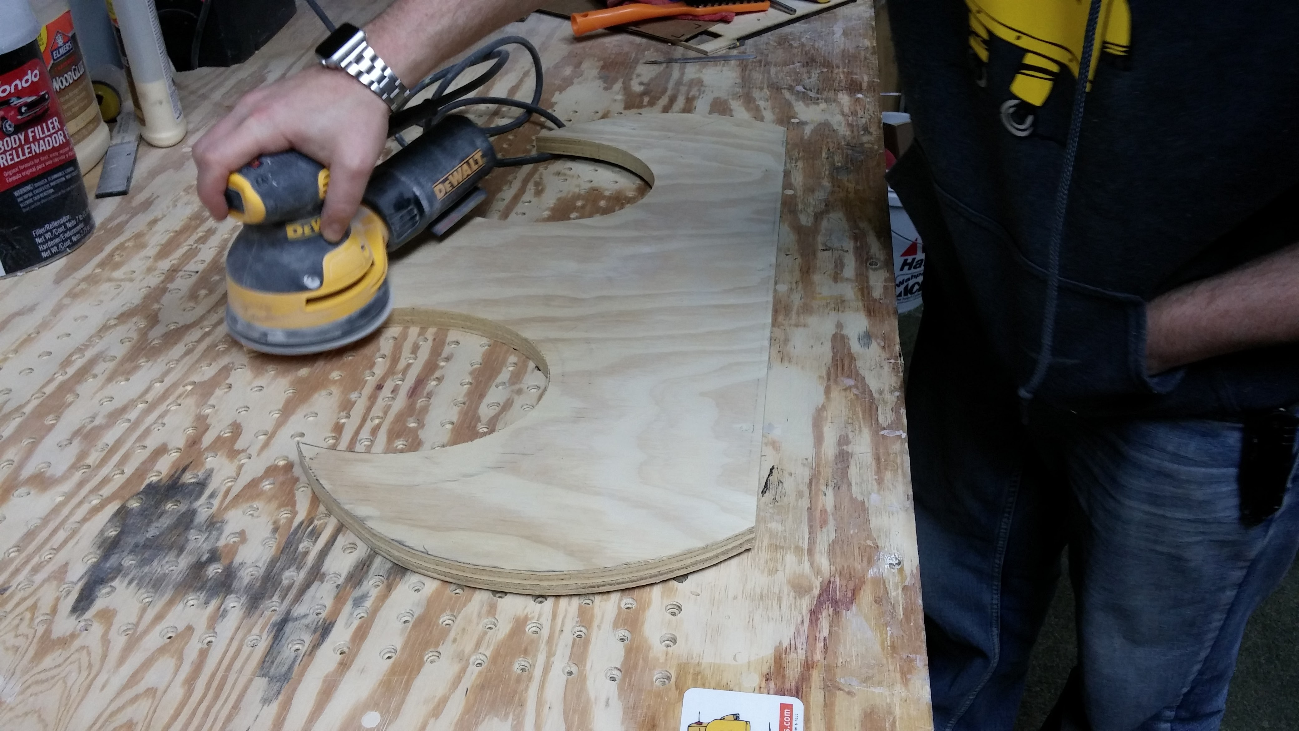 Picture of Cutting Out Plywood