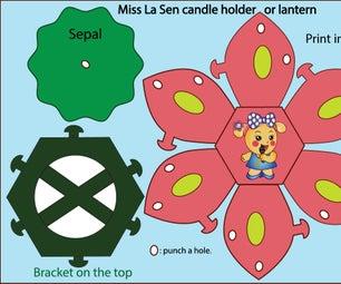 Miss La Sen Candle Holder or Lantern