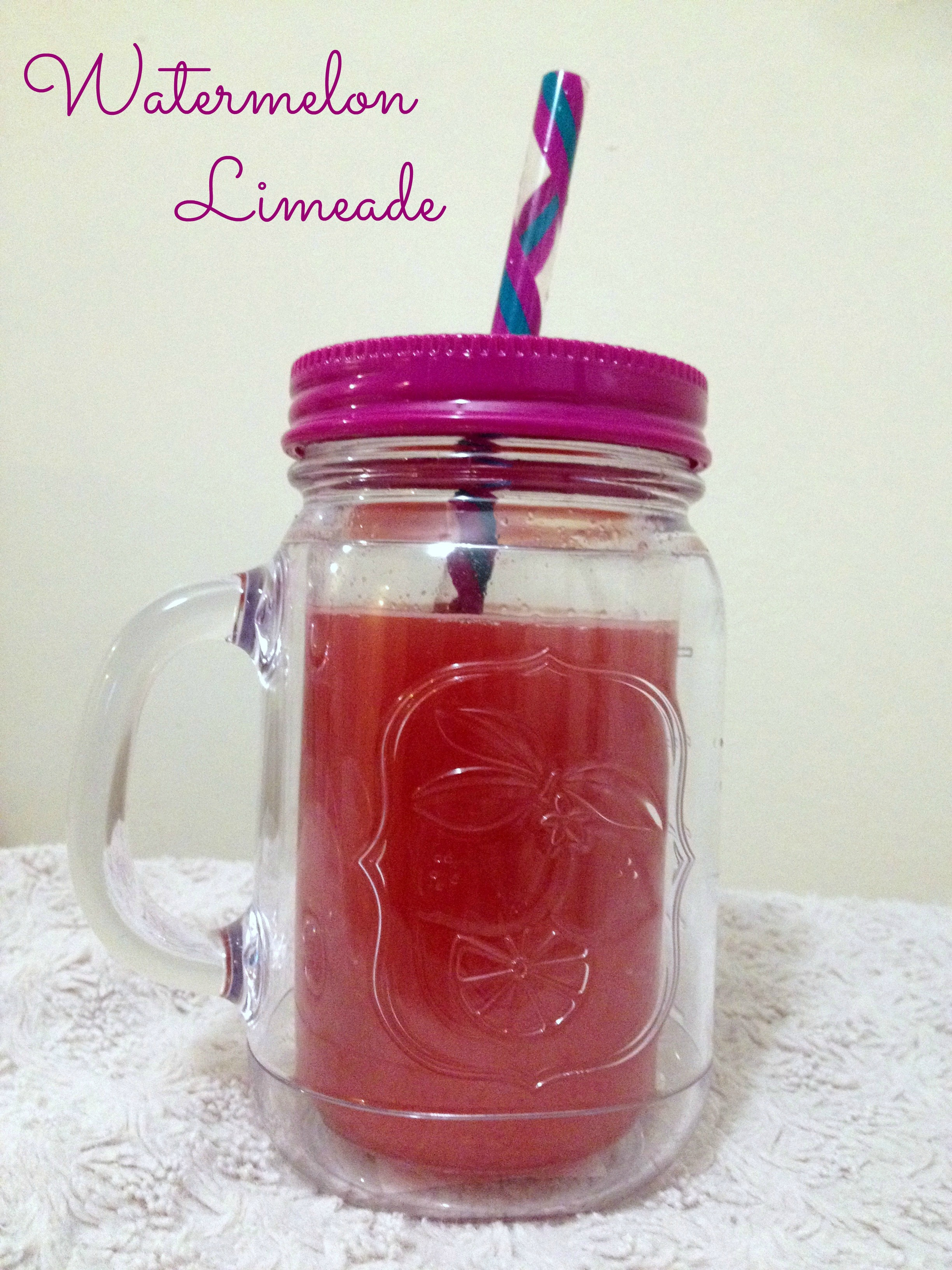 Picture of Watermelon Limeade