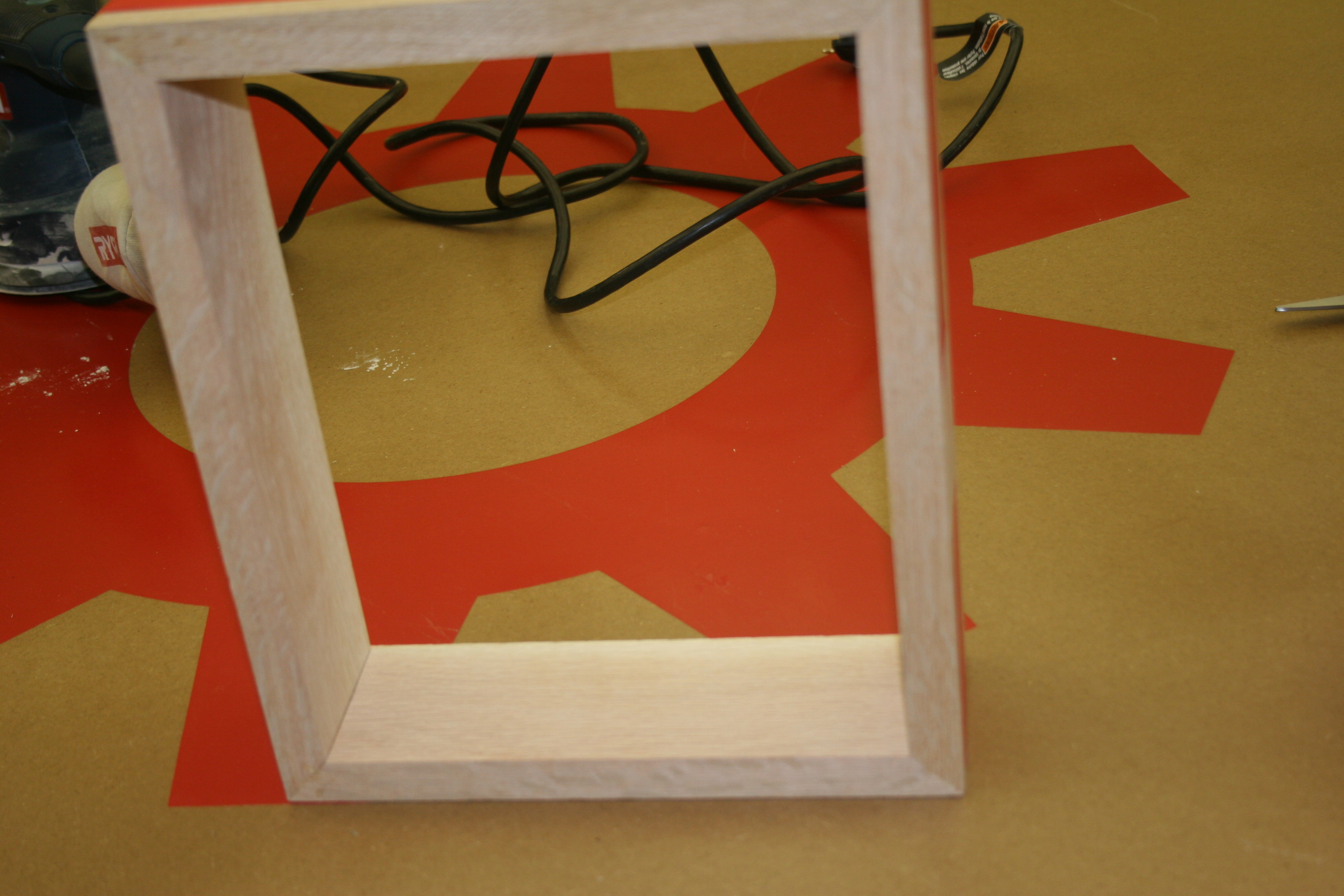 Picture of Sanding and Glue Up