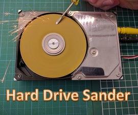 Hard Drive Sander