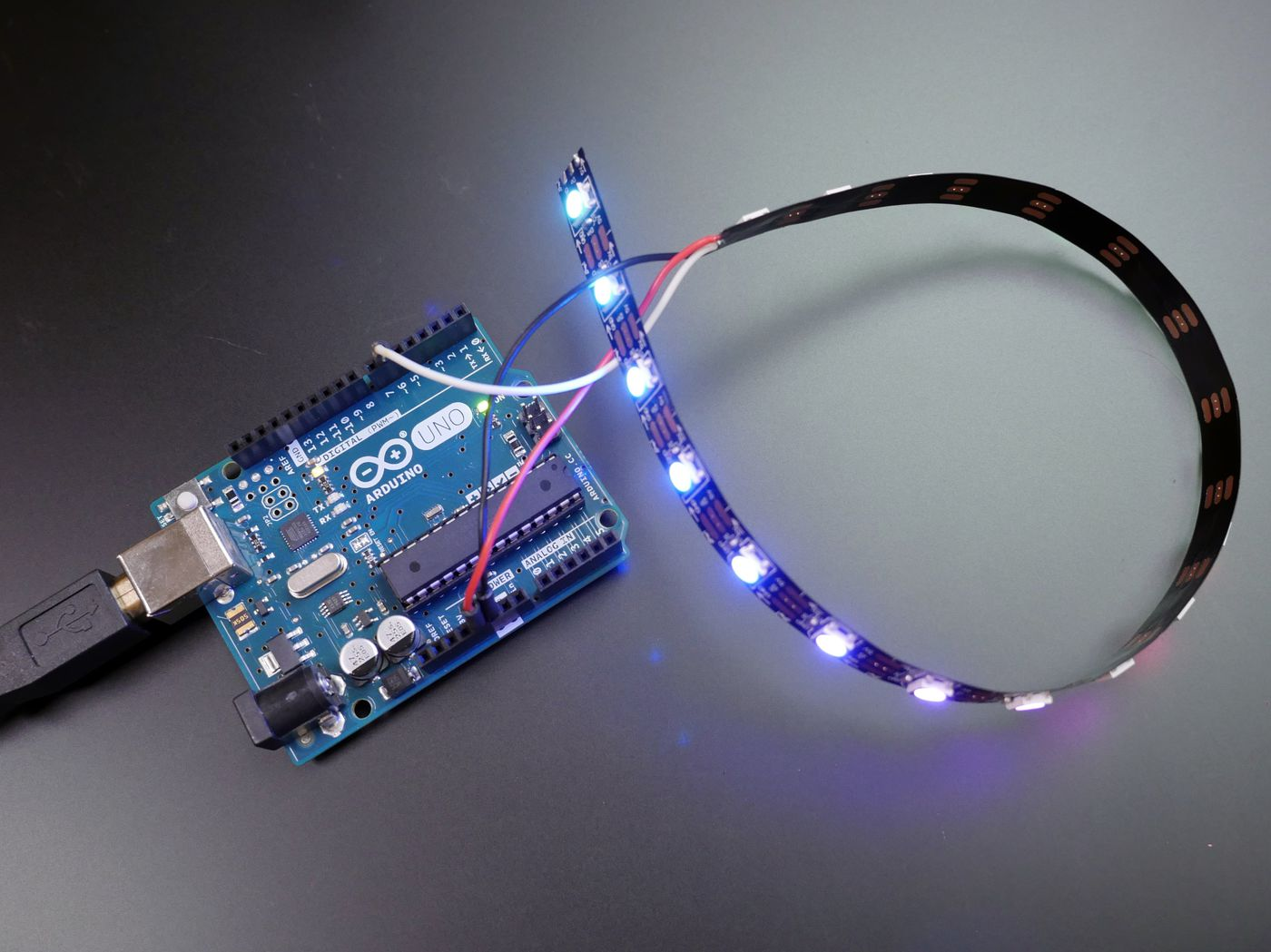 Addressable LEDs and Code Libraries
