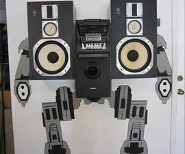 Speaker Robot (Mech Warrior)