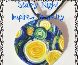 Starry Night Inspired Jewelry