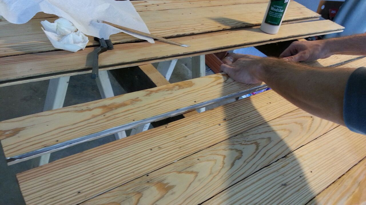 Picture of Assemble Boards Into Pre-table
