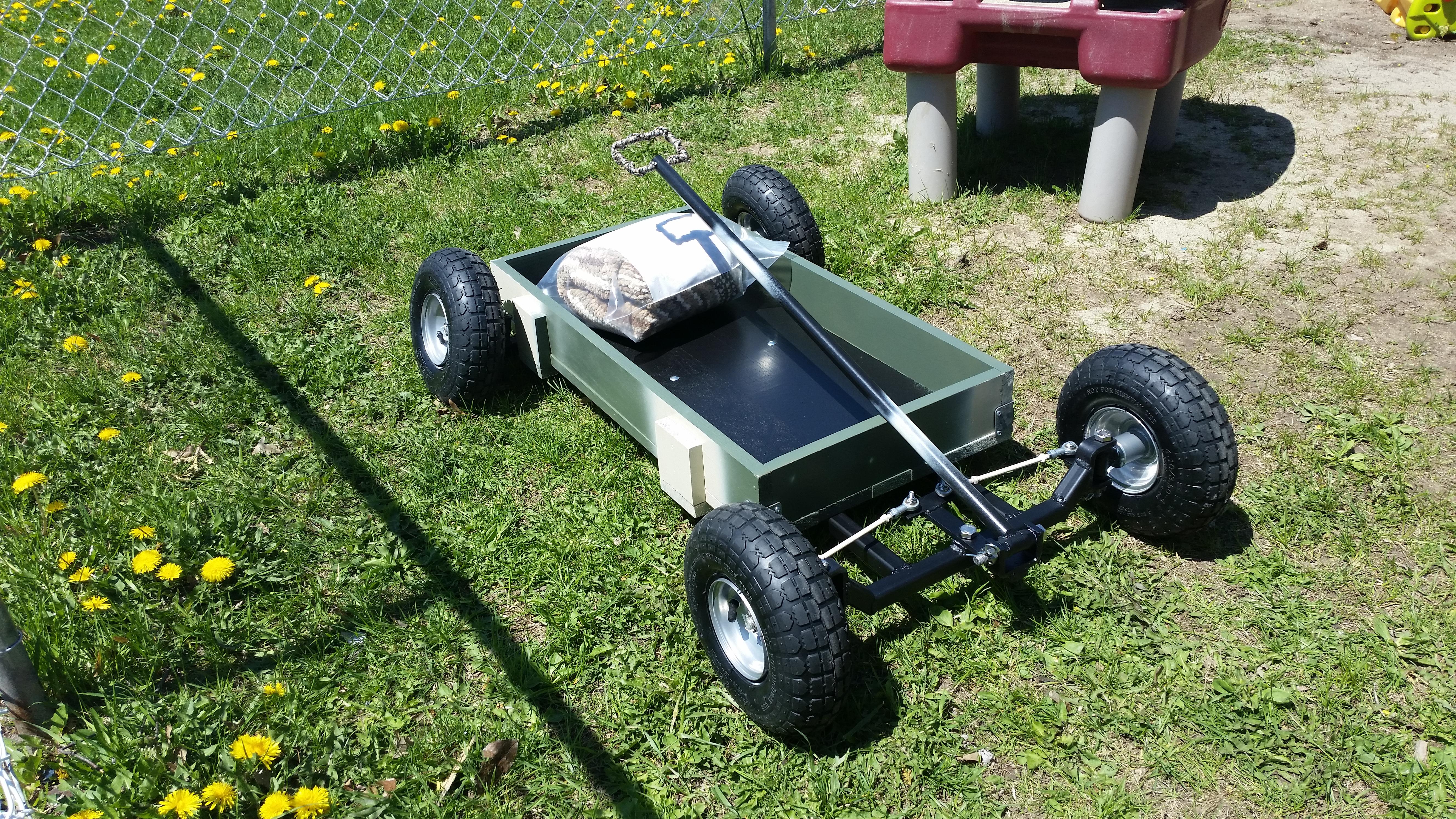 Picture of Custom Kids Wagon.