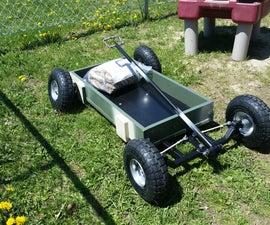 Custom kids wagon.