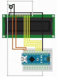 Подключение Дисплея / Display Wiring
