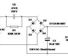 Transformer less 12V power supply out of LED bulb