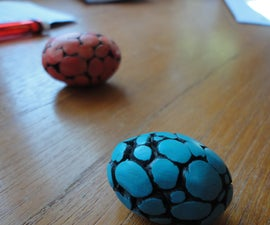 Little Dragon Eggs from Polymer Clay
