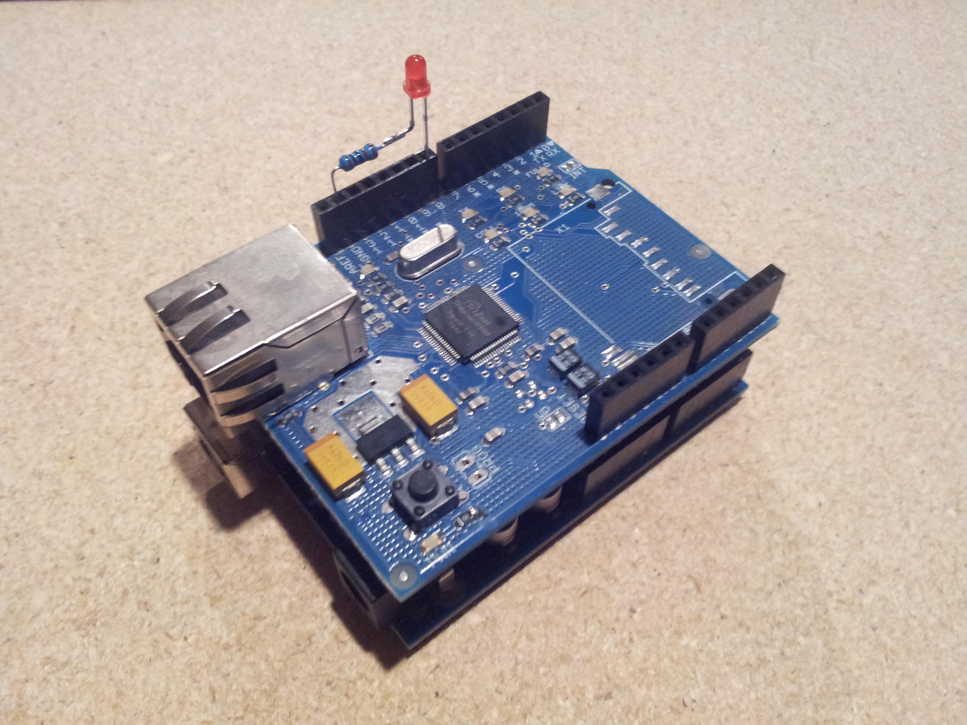 Picture of Arduino Control Via a Web Service With Teleduino