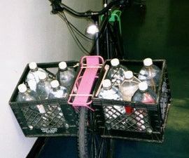 Milk Crate Bicycle Saddlebags