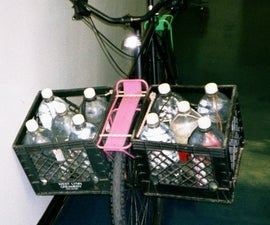Milk Crate Bicycle Saddlebags
