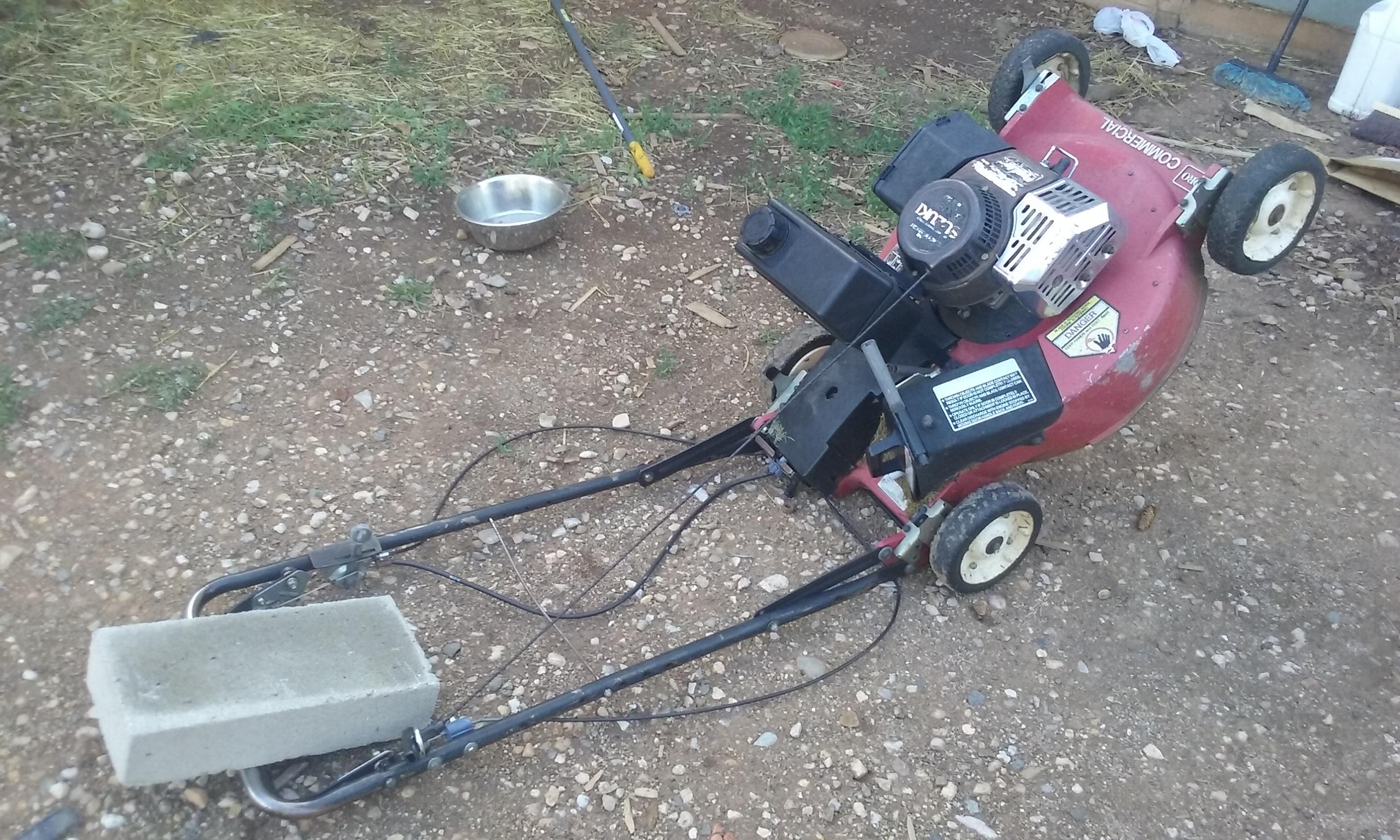 Picture of Prepare the Mower