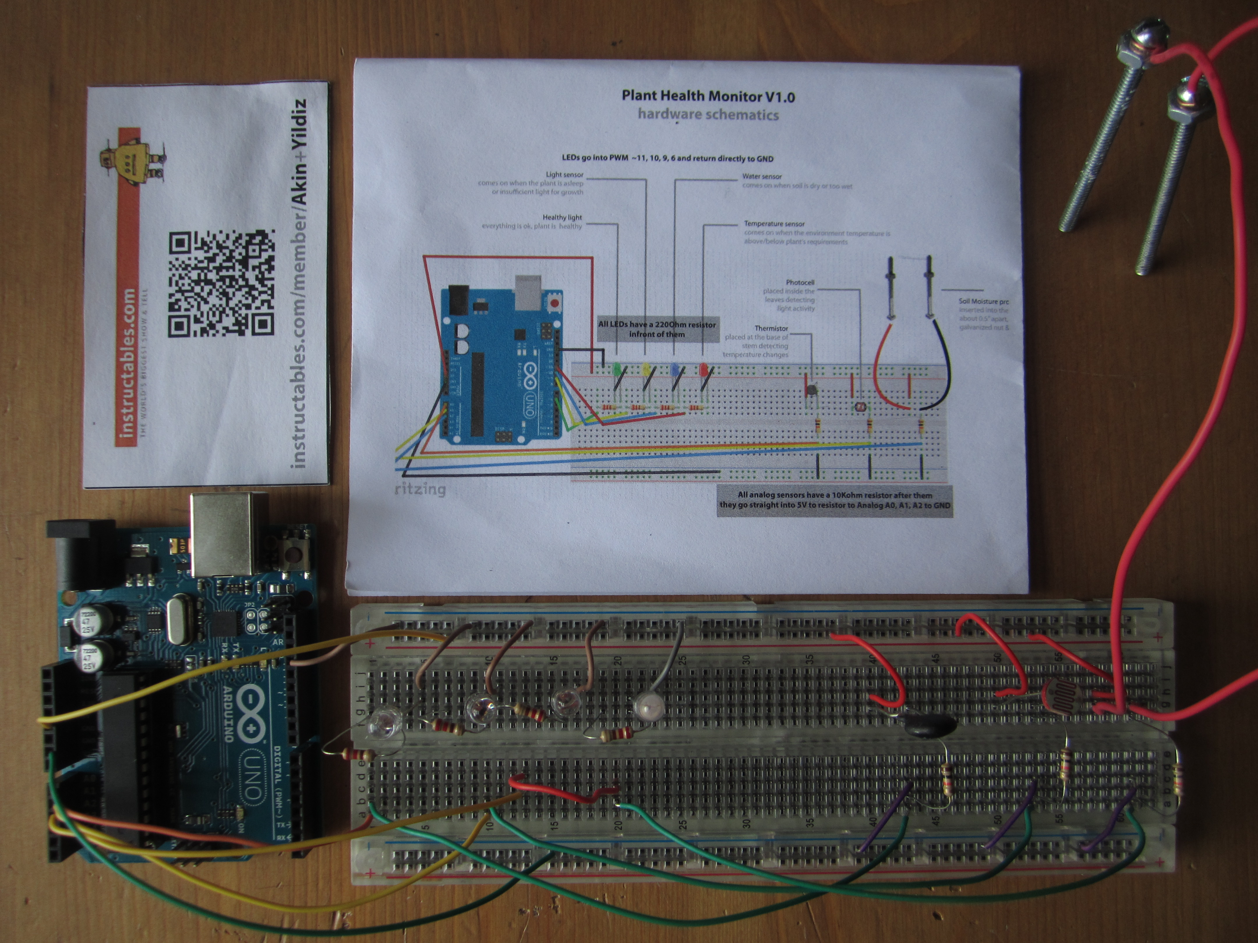 Picture of Code & Wiring