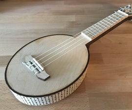 Living Hinge Pineapple Ukulele