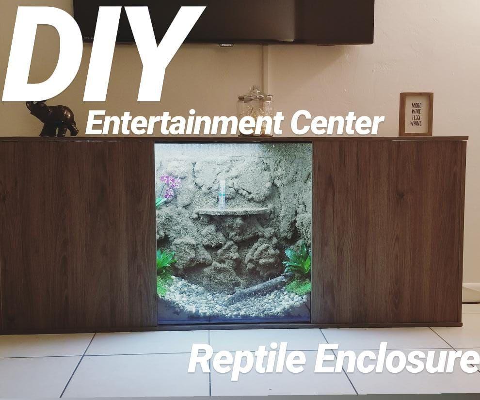 Reptile Enclosure Entertaiment Center!: 10 Steps (with Pictures)