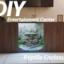 Reptile Enclosure Entertaiment Center!