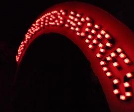 LED display for sousaphone