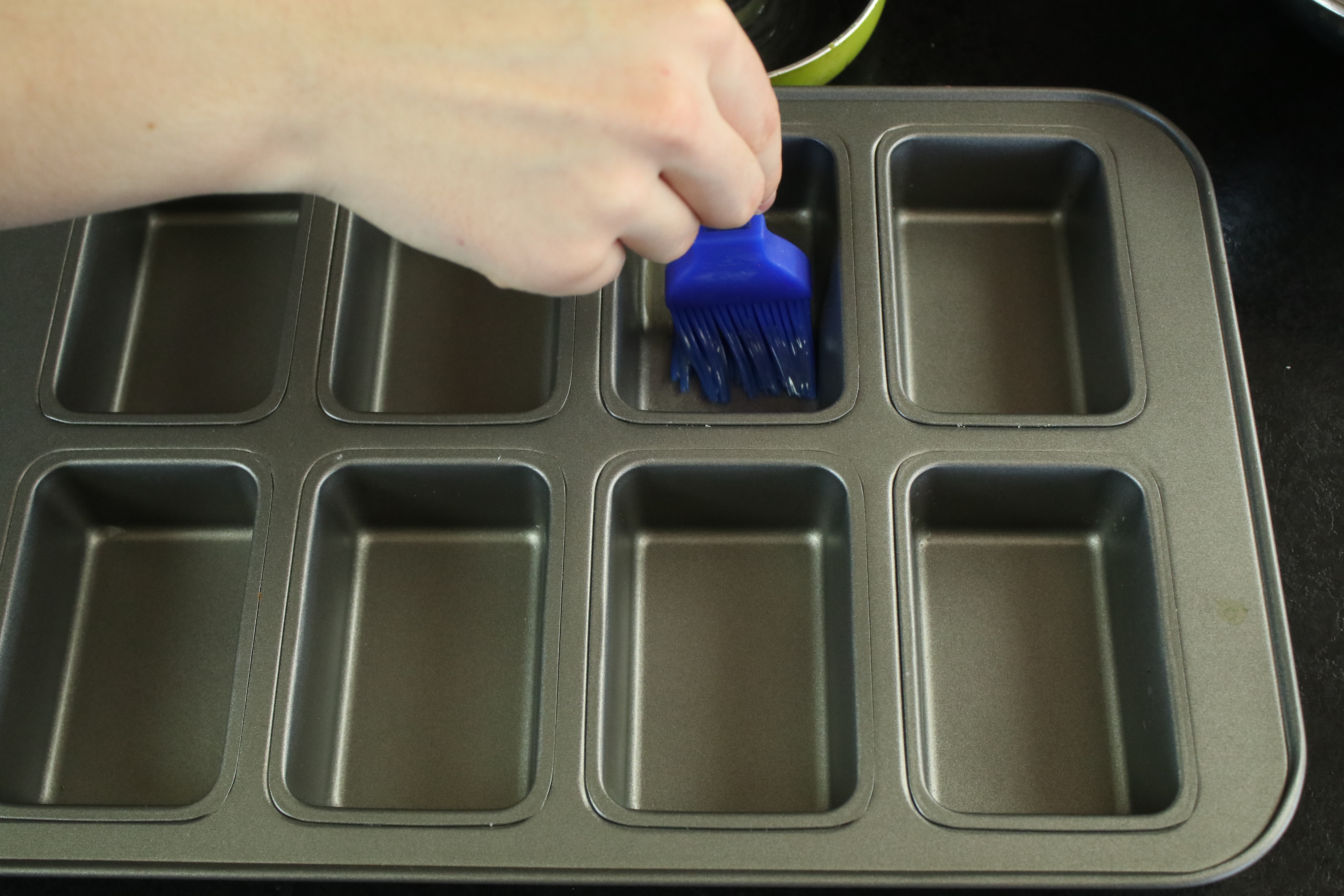 Picture of Preparing the Baking Tin