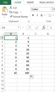 Organize Your Data So That Each Set Is in Its Own Column.