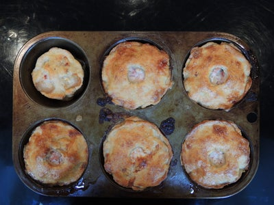 Finishing the Pies by Adding the Jelly