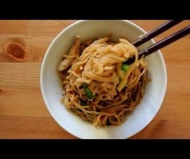 Ee Fu Noodles (Chinese Stir-fry Noodles)