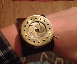 How to make an Iris Diaphram watch