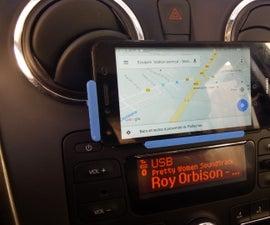 3D printed Phone car mount / support / holder