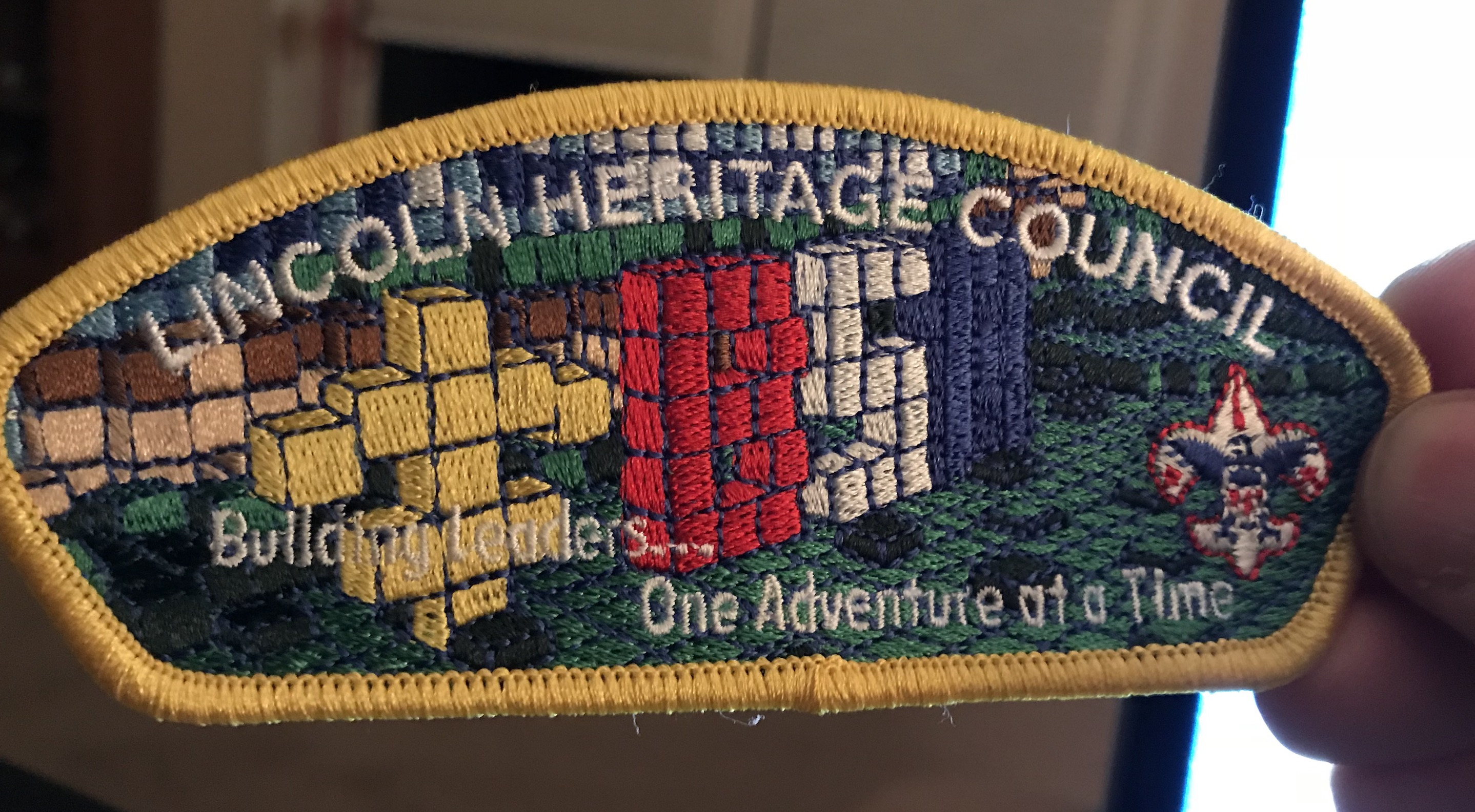 Picture of Step 6: Stitched Out Final Patch