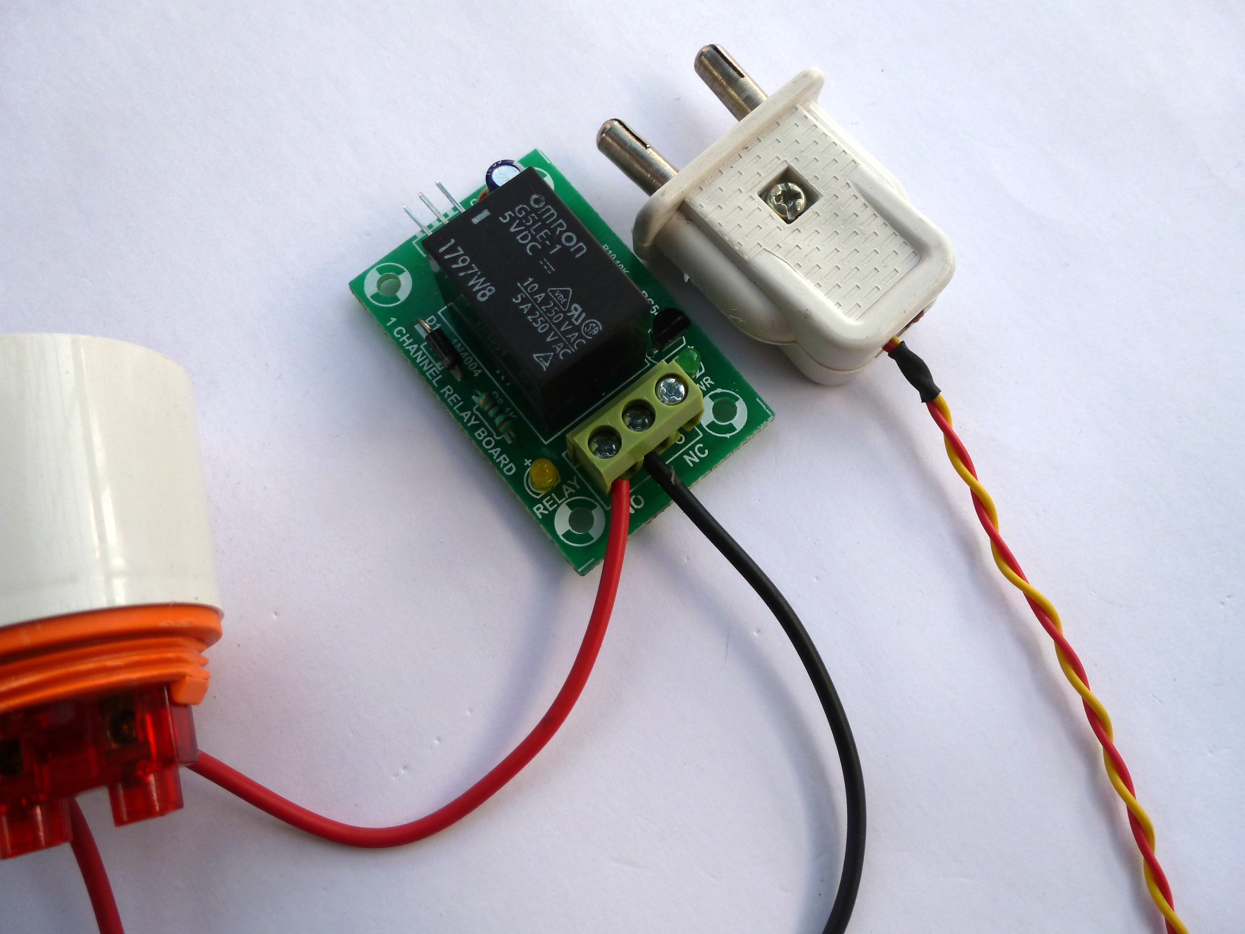 Picture of 220v Supply Connection