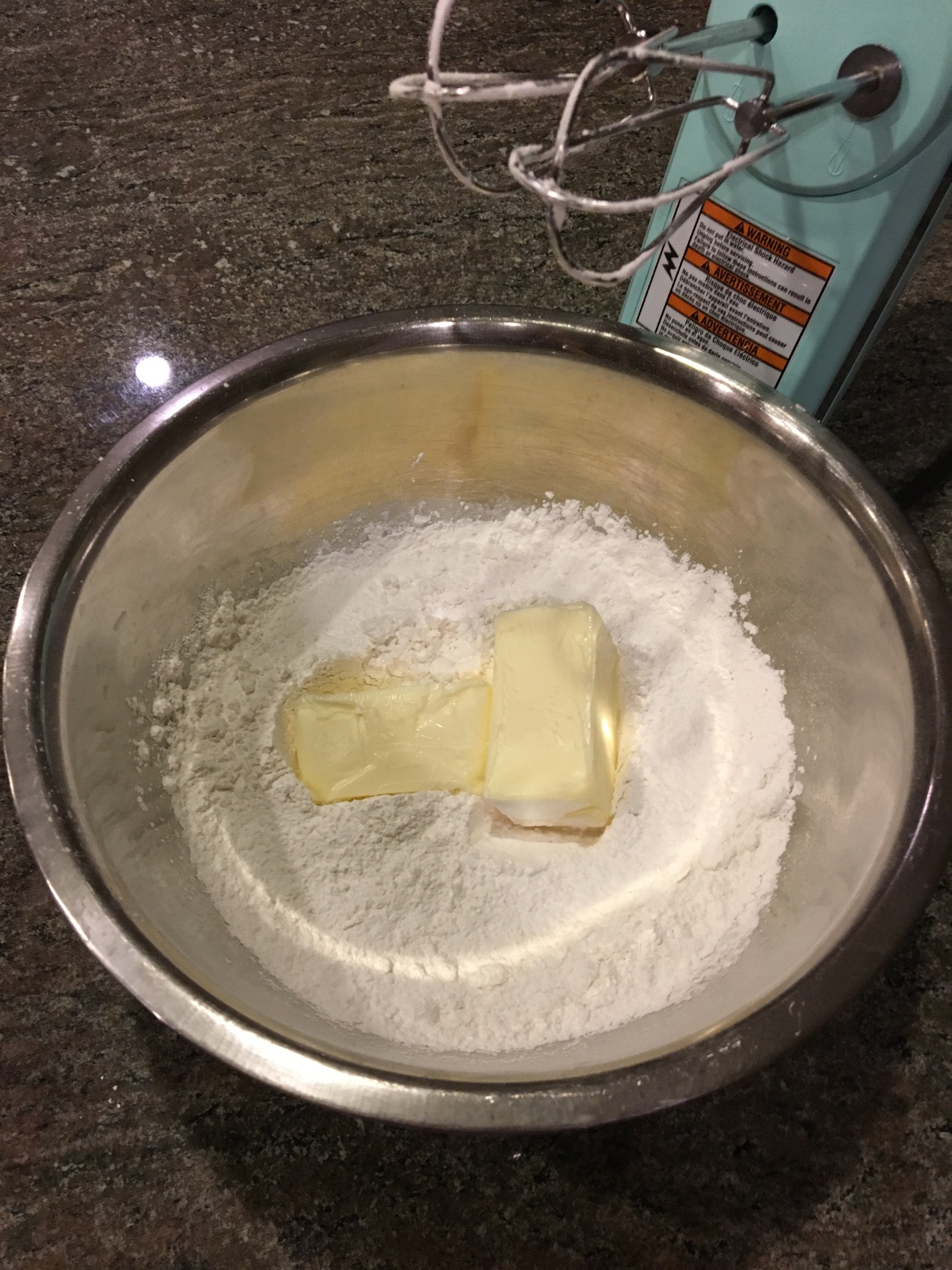 Picture of Make the Peppermint Buttercream Frosting