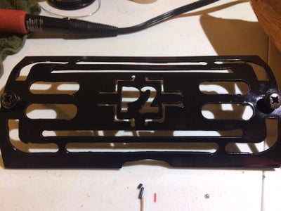 Cutting, and Mounting the Grill