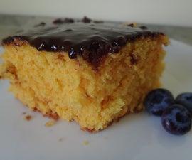 Carrot cake in Brasil