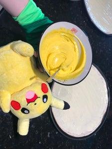 Assemble the Pikachu Pizza!