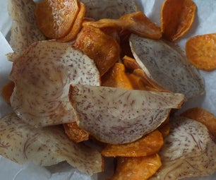 Sweet Potato & Taro Root Chips