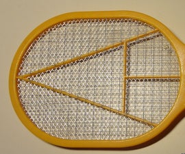 Lithium-Ion Charged Fly/Bug Swatter