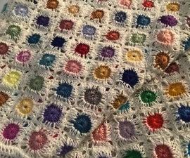Tiny Crochet Motif Scarf
